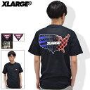 エクストララージ X-LARGE Tシャツ 半袖 メンズ パトリオット(x-large Patriot S/S Tee ティーシャツ T-SHIRTS カットソー トップス XLARGE Extra Large エックスラージ M17A1117)[M便 1/1]