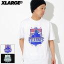 エクストララージ X-LARGE Tシャツ 半袖 メンズ サンタフェ OG(x-large Santa Fe OG S/S Tee ティーシャツ T-SHIRTS カットソー トップス XLARGE Extra Large エックスラージ M18A1109)[M便 1/1]
