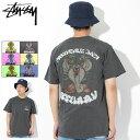 ステューシー STUSSY Tシャツ 半袖 メンズ Cobra Daze Pigment Dyed ( stussy tee ピグメント ティーシャツ T-SHIRTS カットソー トップス メンズ 男性用 1904197 USAモデル 正規 品 ストゥーシー スチューシー )[M便 1/1]