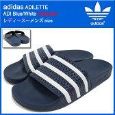 アディダス adidas サンダル レディース & メンズ アディレッタ ADI Blue/White オリジナルス(adidas ADILETTE Originals シャワーサンダル スポーツサンダル ネイビー 紺 SANDAL LADIES MENS・靴 シューズ SHOES 288022) ice filed icefield 05P01Oct16