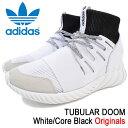 アディダス adidas スニーカー メンズ 男性用 チュブラー ドゥーム White/Core Black オリジナルス(adidas TUBULAR DOOM Originals チューブラー ホワイト 白 SNEAKER MENS・靴 シューズ SHOES BA7554) ice filed icefield