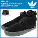アディダス adidas スニーカー メンズ 男性用 チュブラー インベーダー ストラップ Core Black/Utility Black オリジナルス(adidas TUBULAR INVADER STRAP Originals チューブラー SNEAKER MENS・靴 シューズ SHOES BB8392) ice filed icefield