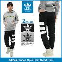 アディダス adidas パンツ メンズ ストライプス オープン ヘム スウェットパンツ オリジナルス(adidas Stripes Open Hem Swea...