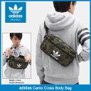 アディダス adidas バッグ カモ クロス ボディバッグ オリジナルス(adidas Camo Cross Body Bag Originals トレフォイ...