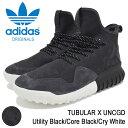 アディダス adidas スニーカー メンズ 男性用 チュブラー X アンケージド Utility Black/Core Black/Cry White オリジナルス(adidas TUBULAR X UNCGD Originals チューブラー ブラック 黒 SNEAKER MENS・靴 シューズ SHOES BB8404) ice filed icefield