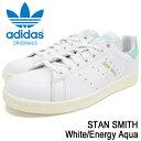アディダス adidas スタンスミス スニーカー メンズ ホワイト/エナジーアクア 白/水色 BZ0461