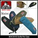 ベンデイビス BEN DAVIS ペンケース ゴリラ ホワイトレーベル(ben davis BDW-9033 Gorilla Pen Case WHITE LABEL メンズ レディース ユニセックス 男女兼用 ベン デイビス ベン・デイビス ベンデービス)
