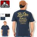 ベンデイビス BEN DAVIS Tシャツ 半袖 メンズ ルーディ ( BENDAVIS C-1580010 Rudie S/S Tee ポケット ポケT T-SHIRTS カットソー トップス ベン・デイビス ベンデービス )[M便 1/1] ice field icefield