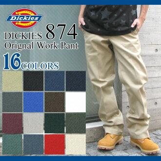 Dickies Dickies 874 奇諾工作褲長度 32 男子 (DICKIES dickies 874 Dickies 874、 四夷是沒有工作 Pant デッキーズ 奇諾褲子底長褲子底部 L32 鍵) 冰提起冰原