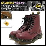 ドクターマーチン Dr.Martens ウィメンズ 1460 8アイ ブーツ チェリーレッド レディース(dr.martens DR.MARTENS WOMENS 1460 8 EYE BOOT 8ホ