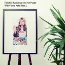 フェアチャイルド パリ Fairchild Paris ケイト モス L ポスター シュプリーム アート ポスター ウィズ フレーム(Fairchild Paris Supreme Art Poster With Frame Kate Moss L インテリア LW1002-S-18)[I便] ice filed icefield