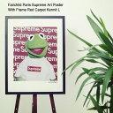 フェアチャイルド パリ Fairchild Paris レッド カーペット カーミット L ポスター シュプリーム アート ポスター ウィズ フレーム(Fairchild Paris Supreme Art Poster With Frame Red Carpet Kermit L インテリア SUP21-18)[I便] ice filed icefield