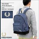 フレッドペリー FRED PERRY リュック デニム バックパック 日本企画(FREDPERRY F9520 Denim Backpack...