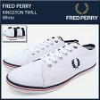 フレッドペリー FRED PERRY スニーカー メンズ 男性用 キングストン ツイル White(FREDPERRY SB6259U-A38 KINGSTON TWILL ホワイト 白 SNEAKER MENS・靴 シューズ SHOES フレッド ペリー フレッド・ペリー) ice filed icefield