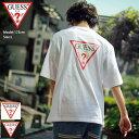 ゲス GUESS Tシャツ 半袖 メンズ トライアングル ロゴ バック プリント ( GUESS Triangle Logo Back Print S/S Tee ティーシャツ T-SHIRTS カットソー トップス メンズ 男性用 MJ2K9418K )[M便 1/1] ice field icefield