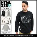 エイチティエムエル ゼロスリー HTML ZERO3 トレーナー メンズ ニュー シールド カット オフ スウェット(html zero3 New Shield...