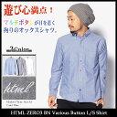 エイチティエムエル ゼロスリー HTML ZERO3 シャツ 長袖 メンズ BN バリオス ボタン(html zero3 BN Various Button L / S Shirt...