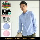 【12月入荷予定】エイチティエムエル ゼロスリー シャツ 長袖 メンズ HTML ZERO3×劇場版 TIGER & BUNNY -The Rising- Guttarelax Im NEXT Oxford L/S Shirt(タイガー & バニー タイバニ T&B トップス)
