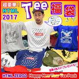 【1/26発送予定】エイチティエムエル ゼロスリー HTML ZERO3 Happy New Year Tシャツ 福袋 2017 エイチティーエムエル ice filed icefield
