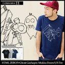 エイチティエムエル ゼロスリー HTML ZERO3×ゴースト ガチャピン・ムック ドアーズ Tシャツ 半袖 コラボ(html zero3×Ghost Gachapin・Mukku Doors S/S Tee Collaboration) エイチティーエムエル