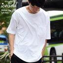 アイスフィールド ICEFIELD Tシャツ 半袖 メンズ ポケット ビッグ(icefield Pocket Big S/S Tee ビッグシルエット オーバーサイズ ティーシャツ T-SHIRTS カットソー トップス IF-T003)