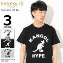 カンゴール KANGOL Tシャツ 半袖 メンズ ハイプ アーチ(KANGOL Hype Arch S/S Tee ティーシャツ T-SHIRTS カットソー トップス LCT0010)[M便 1/1]