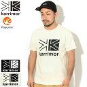 カリマー Karrimor Tシャツ 半袖 メンズ ビッグ ロゴ ( Karrimor Big Logo S/S Tee ティーシャツ T-SHIRTS カットソー トップス アウトドア 3T01MBJ2 )[M便 1/1] ice field icefield