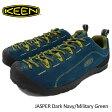 【ポイント10倍】キーン KEEN スニーカー メンズ 男性用 ジャスパー Dark Navy/Military Green(keen JASPER カジュアル アウトドア キャンプ ネイビー 紺 SNEAKER MENS・靴 シューズ SHOES 1011157) ice filed icefield