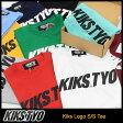 キックス ティー・ワイ・オー KIKS TYO Tシャツ 半袖 メンズ キックス ロゴ(Kiks Tyo Kiks Logo S/S Tee ティーシャツ T-SHIRTS カットソー トップス KIKSTYO kiks・tyo キックスティーワイオー KT1609T-01) ice filed icefield 05P03Dec16