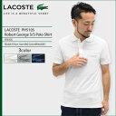 ラコステ LACOSTE ポロシャツ 半袖 メンズ PH5105 ロベール ジョルジュ(lacoste PH5105 Robert George S/S Polo Shirt ピケ 鹿の子 ポロ・シャツ トップス)