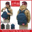 【ポイント10倍】マンハッタンポーテージ Manhattan Portage リュック ビッグアップル(manhattan portage Big Apple Backpack MP1210 デイパック バックパック Bag バッグ バック 普段使い 通勤 通学 旅行 メンズ レディース ユニセックス 男女兼用)