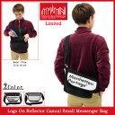 【送料無料】【Limited】マンハッタンポーテージ メッセンジャーバッグ Manhattan Portage Logo On Reflector Casual Small Messenger Bag Limited