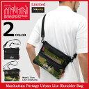 【ポイント10倍】マンハッタンポーテージ Manhattan Portage ショルダーバッグ アーバン ライト 限定(manhattan portage Urban Lite Shoulder Bag Limited MP1084MESH2CDL Harlem Bag メンズ レディース ユニセックス 男女兼用)