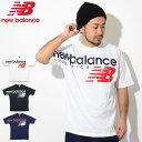 ニューバランス new balance Tシャツ 半袖 メンズ NB アスレチック クロスオーバー(new balance NB Athletic Crossover S/S Tee ビッグシルエット オーバーサイズ ティーシャツ T-SHIRTS カットソー トップス メンズ 男性用 MT91512)[M便 1/1]