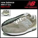 ニューバランス new balance スニーカー メンズ 男性用 M996 GY Grey メイドインUSA(NEWBALANCE M996 GY Made in USA グレー 灰 SNEAKER MENS・靴 シューズ SHOES M996-GY)
