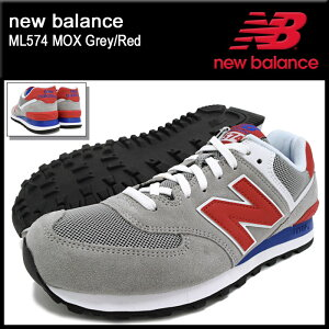 �˥塼�Х��newbalance���ˡ��������������ML574MOXGrey/Red(newbalanceML574MOX���졼����SNEAKERMENS�������塼��SHOESML574-MOX)icefiledicefield