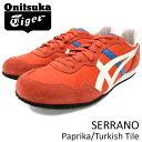 オニツカタイガー Onitsuka Tiger スニーカー メンズ 男性用 セラーノ Paprika/Turkish Tile(Onitsuka Tiger SERRANO レッド 赤 SNEAKER MENS・靴 シューズ SHOES D109L-2246 TH109L-2246) ice filed icefield