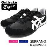 オニツカタイガー Onitsuka Tiger スニーカー レディース & メンズ セラーノ Black/White(Onitsuka Tiger SERRANO ブラック 黒 SNEAKER LADIES MENS・靴 シューズ SHOES D109L-9001 TH109L-9001) ice filed icefield