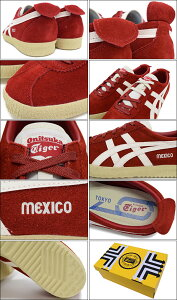 ���˥ĥ���������OnitsukaTiger���ˡ�������������ѥᥭ�����ǥ쥲�������Red/SlightWhite(OnitsukaTigerMEXICODELEGATION��å���SNEAKERMENS�������塼��SHOESD601L-2199TH601L-2199)icefiledicefield
