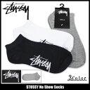 ステューシー STUSSY ソックス メンズ No Show(stussy socks ソックス 靴下 メンズ・男性用 138533 ストゥーシー スチューシー...