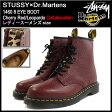 ステューシー STUSSY ブーツ レディース & メンズ ドクターマーチン 1460 8アイ チェリーレッド/レオパード コラボ(stussy×Dr.Martens 1460 8 EYE BOOT Cherry Red/Leopardo 338113 22083600 8ホールブーツ BOOTS Shoes 靴 ステューシー×ドクターマーチン)