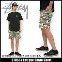 ステューシー STUSSY Fatigue Skate ショーツ(stussy short pant ショートパンツ ハーフパンツ ショーツ ボトムス メンズ・男性用 012488 スチューシー) ice filed icefield