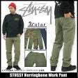 ステューシー STUSSY Herringbone Work パンツ(stussy pant パンツ メンズ・男性用 016764 スチューシー) ice filed icefield