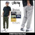 ステューシー STUSSY パンツ メンズ Stock Fleece(stussy Sweat Pant スウェットパンツ スエットパンツ ボトムス メンズ・男性用 116270 ストゥーシー スチューシー) ice filed icefield