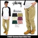 ステューシー STUSSY パンツ メンズ Garment Dyed Chi