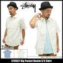 ステューシー STUSSY シャツ 半袖 メンズ Big Pocket