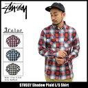 ステューシー STUSSY シャツ 長袖 メンズ Shadow Plaid(stussy shirt カジュアルシャツ トップス メンズ・男性用 111892 ...