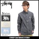 ステューシー STUSSY シャツ 長袖 メンズ Lion Oxford(stussy shirt カジュアルシャツ トップス メンズ 男性用 111895 USAモデル 正規 品 ストゥーシー スチューシー)