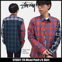 ステューシー STUSSY シャツ 長袖 メンズ 17S Mixed Plaid(stussy shirt カジュアルシャツ トップス メンズ 男性用 111922 USAモデル 正規 品 ストゥーシー スチューシー)