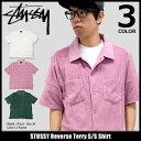 ステューシー STUSSY シャツ 半袖 メンズ Reverse Ter